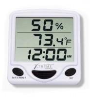 Hygro-Thermometer & Uhr
