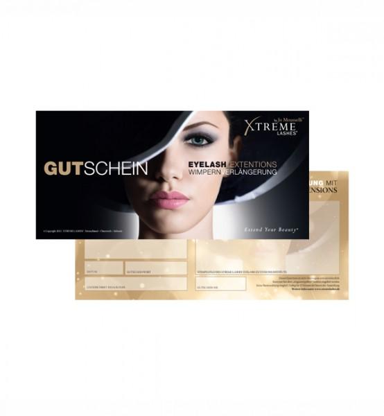 Xtreme Lashes Geschenk Gutschein 25 Stk Marketing Für