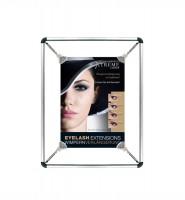Spannrahmen aus Aluminium passend für DinA1 Poster (59 x 84cm)